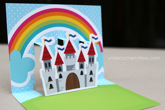 Print-and-Cut PopUp Princess Party Invitation card — Make The Cut! Forum